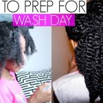 How I Prep My Little Girls 4A Natural Hair For Wash Day|Condition +Moisture Method [Video]