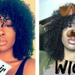 How To Cut Curly Hair Into A Cute Natural Fro [Video]