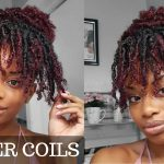 HOW TO FINGER COILS ON KINKY CURLY HAIR + COIL OUT NATURAL HAIRSTYLE [Video]
