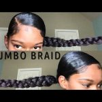 Jumbo Braid ponytail With Kanekalon Hair | Natural Hair [Video]