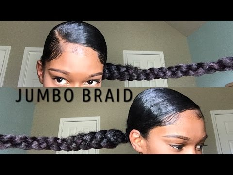 styles to do with kanekalon hair jumbo braid ponytail with kanekalon hair hair 1598