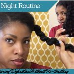 My Nightly 4b/4c Hair Routine (Sometimes) | Maintaining Definition Without Re-twisting [Video]