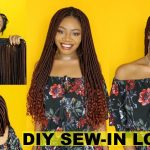 NEW! DIY Goddess Locs Tracks + Sew-in Faux Locs Install | Start to Finish | EASY & Re-usable Crochet [Video]