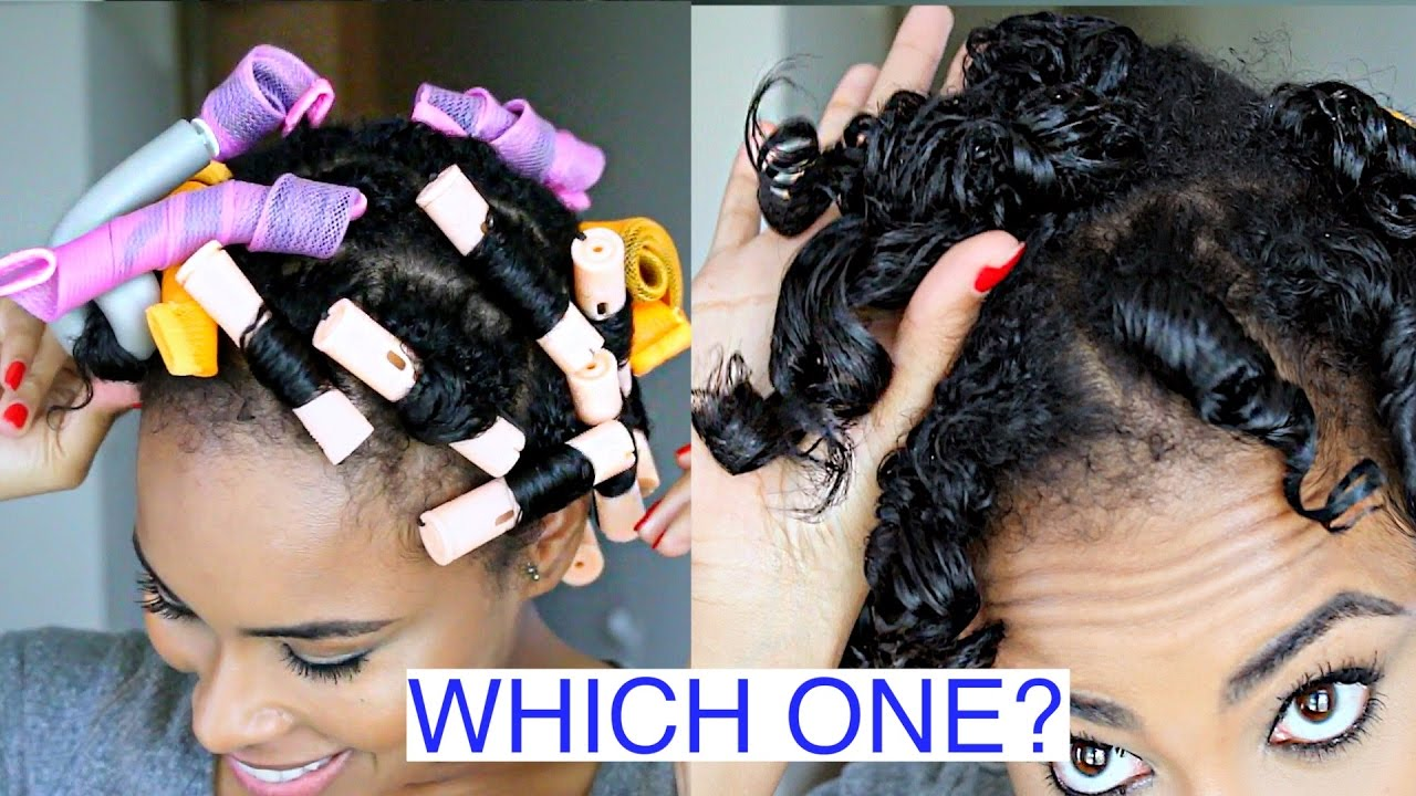 Perm rods vs flexi rods vs curl formers on short to medium perm rods vs flexi rods vs curl formers on short to medium natural hair video black hair information baditri Choice Image