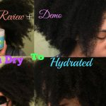 Review + Demo Camille Rose Naturals Algae Renew Vs  Coconut Water Deep Conditioners