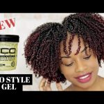 WASH AND GO ECO STYLE BLACK CASTOR AND FLAXSEED OIL GEL [Video]