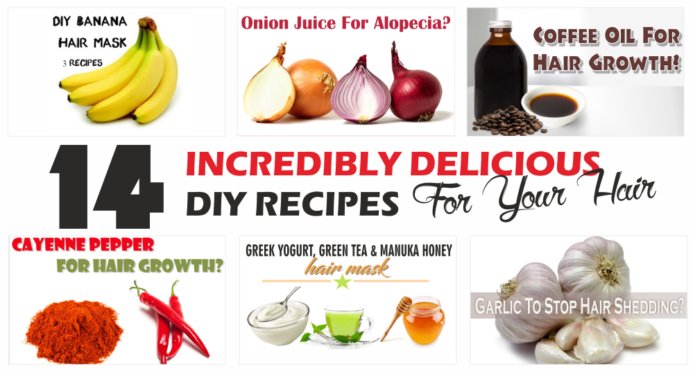14 Incredibly Delicious Diy Recipes For Your Hair Black Hair