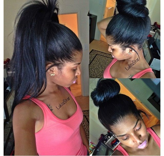 27 Eye Popping Examples Of Long Relaxed Hair For Your Hairgoals