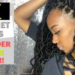 LAZY GIRL Crochet Locs in 1HR NO Cornrows! [Video]
