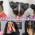 A Week In Jayla's Hair | Weekly Haircare ▸ As I Am [Video]