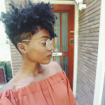 Cute tapered fro @abigail.martina