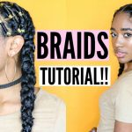 Alicia Keys Inspired Protective Style| (Braids W/ Added Hair)! [Video]