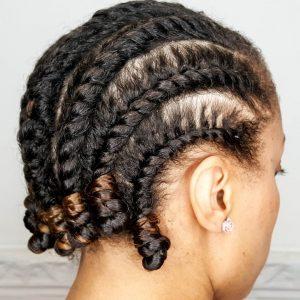 Basic Flat Twist Out | Natural Hair | Mane Choice Pink Lemonade & Coconut  [Video]