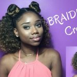 BRAIDLESS CROCHET !! – HALF UP HALF DOWN || Jamaican Bounce Crochet Braiding Hair [Video]