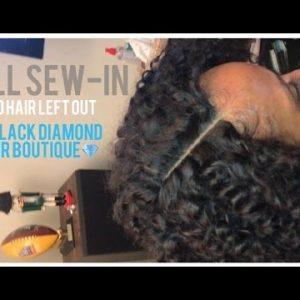 COSMOARIN | FULL SEW-IN w/ LACE CLOSURE TUTORIAL [Video]
