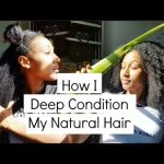 Deep Conditioning My Natural Hair Routine 4C [Video]