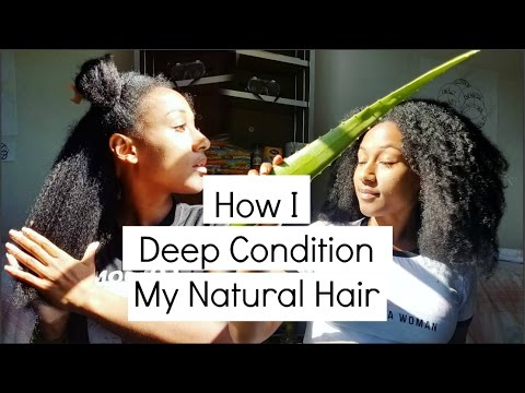 Pre Conditioning Natural Hair