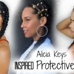 EASY Step-By-Step Alicia Keys Inspired Protective Hairstyle [Video]