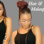 Fulani Braids & Beads + Undercut Transformation   Crochet Method   Summer Hairstyles 2017 [Video]