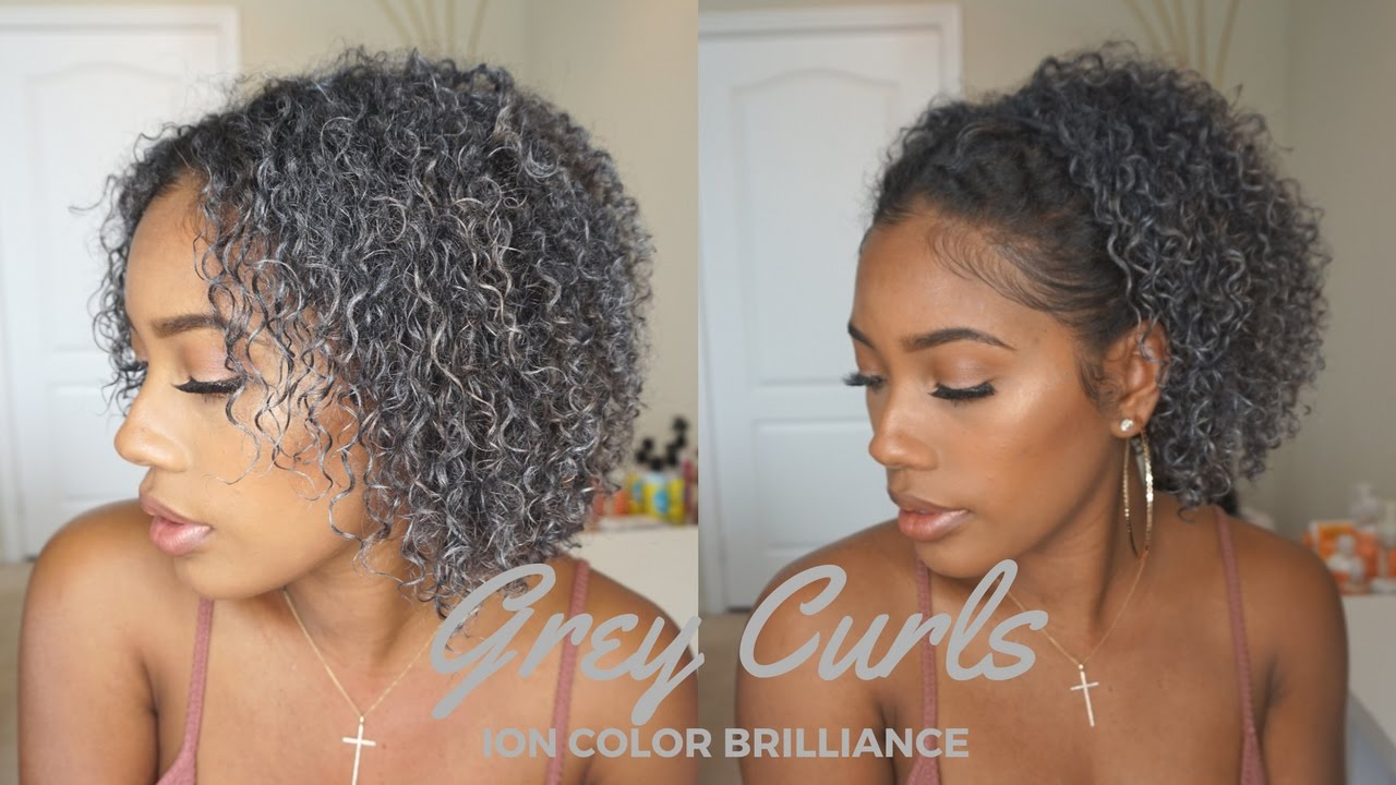 Going Grey Hair Makeup Ion Color Brilliance Gunmetal