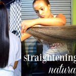 How I Straighten My Natural Hair | Natural Hair Salon Experience | Styles By Eden [Video]