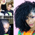 HOW TO CROCHET BRAIDS TUTORIAL | Outre 3C Whirly w/ Exposed Side Braids [Video]