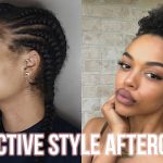 My Protective Style Aftercare + Curl Definition Puff | 4A Hair [Video]