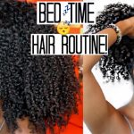 Nighttime Hair Routine|+Growth Tip for Long + Healthy Natural Hair [Video]