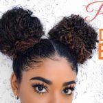 PERFECT DOUBLE BUNS – CURLY HAIR [Video]