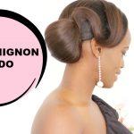 SIDE CHIGNON HAIR UPDO INSPIRED BY TYRA BANKS