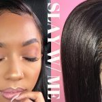 SLAY w/ ME | WIG OR FRESH RELAXER ? MOST NATURAL 360 LACE WIG FT. COCO BLACK HAIR [Video]