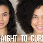 Straight to Curly | Watch My Hair Revert With NO Heat Damage [Video]