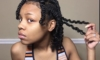 3 Strand Twist Out on Natural Hair