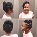 Cute updo via @returning2natural