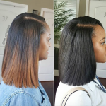 Amazing sew in vs quick weave by @deejabthestylist