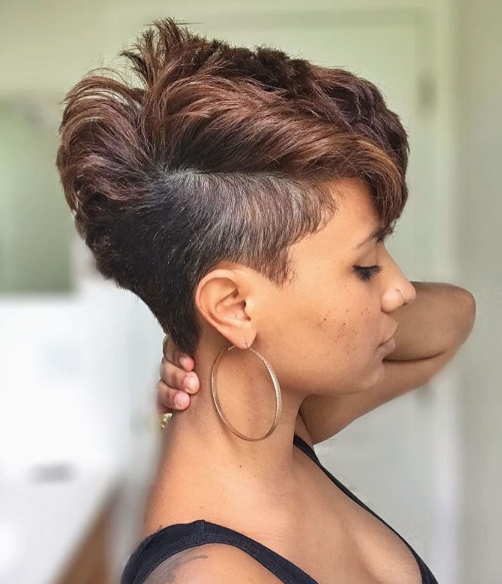 Beautiful Cut By Stylemefabsalon Black Hair Information