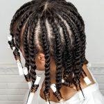 Advanced Flat Twist Out | Natural Hair| Shea Moisture Grow Strengthen & Restore [Video]