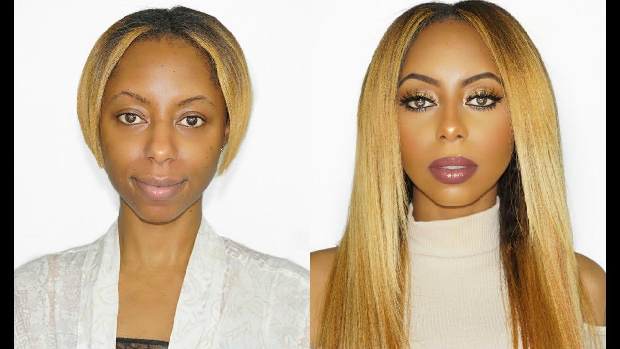 Basic To Beyonce Hair And Makeup Tutorial Video Black Hair