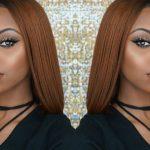 BOMB Copper Blunt bob cut wig  [Video]