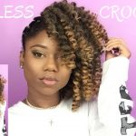 Braidless Crochet!! – Side Puff – Jamaican Bounce Braiding Hair [Video]