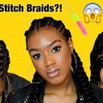CROCHET STITCH BRAIDS FOR SHORT HAIR/BEGINNERS W ELASTICS   Summer 2017 Hairstyles #ARIMETHOD [Video]