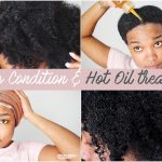 Deep Conditioning & Hot Oil Treatment | NATURAL HAIR [Video]