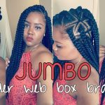 DIY Spider Web Jumbo Box Braids [Video]