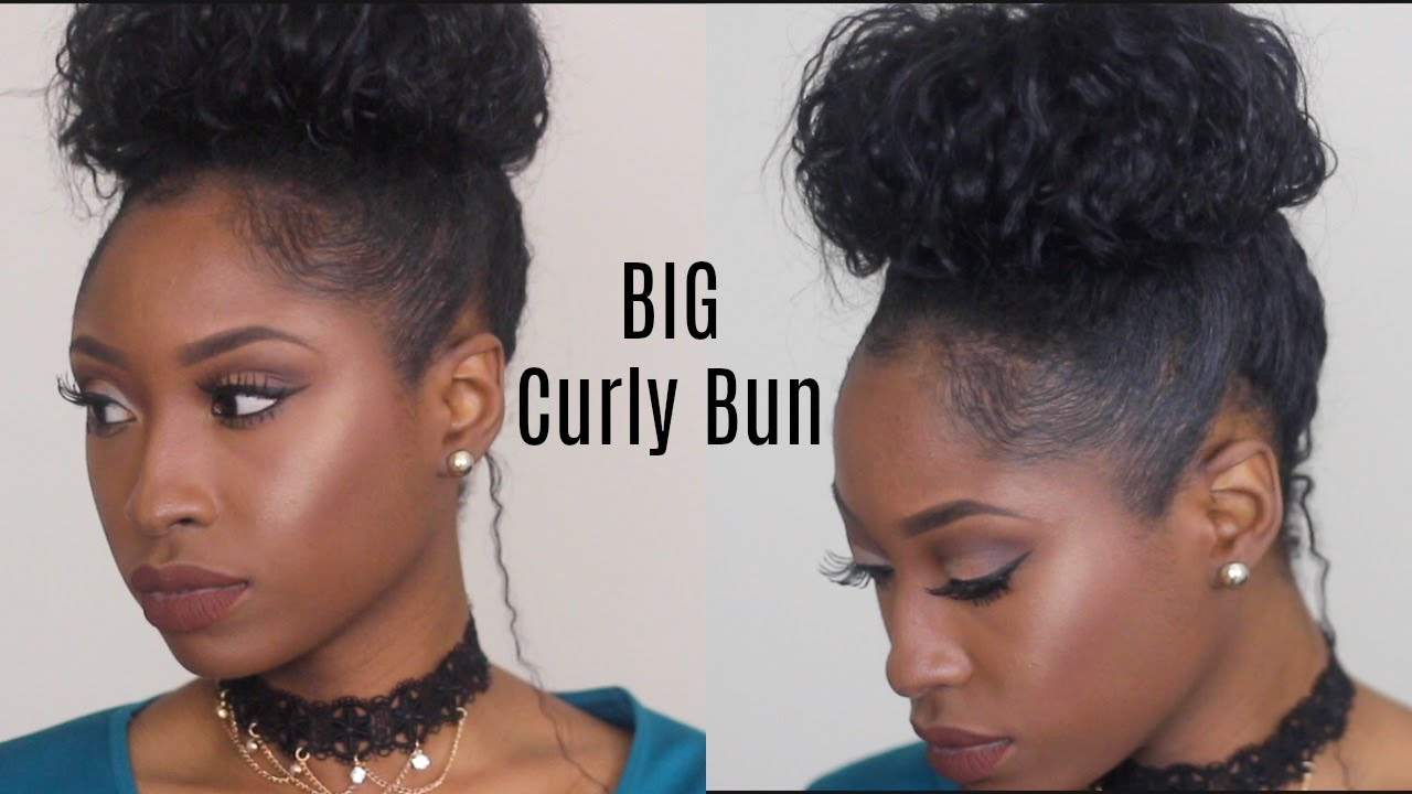 How To Make Your Natural Curls Bigger