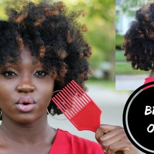 Easy Braid Out & Embracing the Frizz | Creme of Nature's New New Products! [Video]