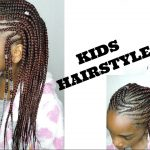GIRLS CORNROWS HAIRSTYLE || ALICIA KEYS INSPIRED [Video]