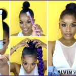 How to | Jumbo Braid Ponytail with Got2b Glued [Video]