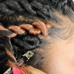 How To: Senegalese Twist Cornrows FOR BEGINNERS! (Step By Step) [Video]