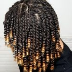 "Mini Twist and Curl ""Straw Set"" On Natural Hair – [Video]"
