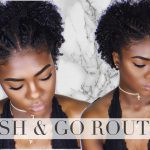 Natural Hair | Defined Wash And Go [Short & Tapered Type 4 Hair] [Video]
